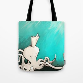 Octoking Tote Bag