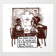 relationshits Art Print