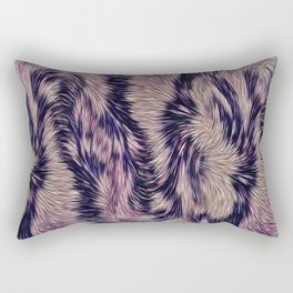Warm fur texture Rectangular Pillow