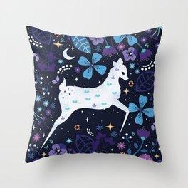 Spirit Deer Throw Pillow