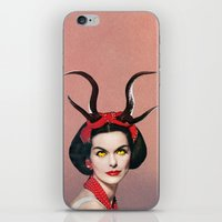 demon iPhone & iPod Skins featuring Demon by Eugenia Loli