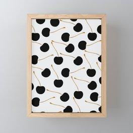 Black Cherries Framed Mini Art Print