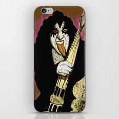 Poster The Great Gene Simmons iPhone & iPod Skin