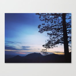 Stand alone Cycle Canvas Print