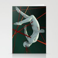 edm Stationery Cards featuring Dividendo Digital by Obvious Warrior