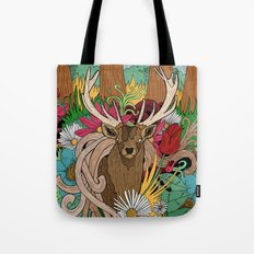 Spring Woodland Tote Bag