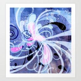 Curlicue Art Print