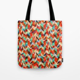 Abstract Chevron Tote Bag