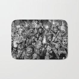 Frankenstein Villagers Bath Mat