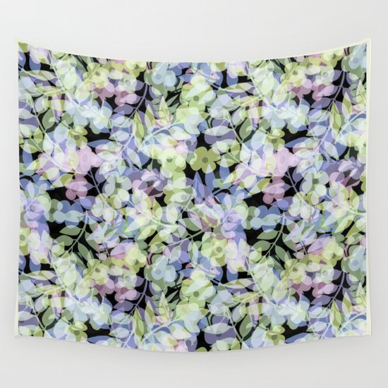 The leaf in dreams Wall Tapestry