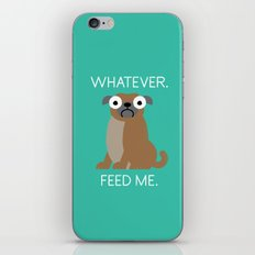 The Pugly Truth iPhone Skin