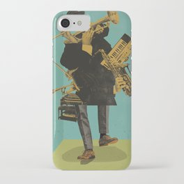 ABSTRACT JAZZ iPhone Case