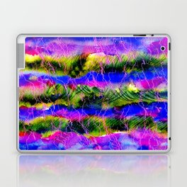 Lavander Field Abstract Background Laptop & iPad Skin