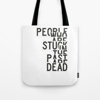 dead Tote Bags featuring Dead by WRDBNR