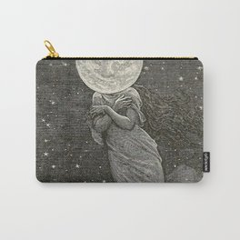 AROUND THE MOON - EMILE-ANTOINE BAYARD Carry-All Pouch