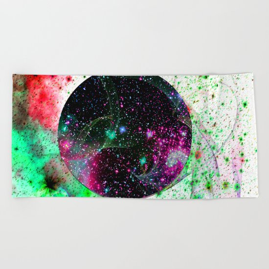Hole In The Space-Time Fabric Beach Towel