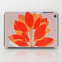 spice iPad Cases featuring Blossom Spice by Garima Dhawan