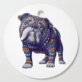 English Bulldog (Color Version) Cutting Board