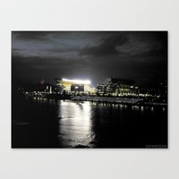 steelers Canvas Prints featuring City of Champions by Alyson Cornman Photography