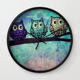 owl-45 Wall Clock