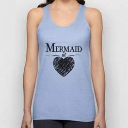 Mermaid at Heart Unisex Tank Top