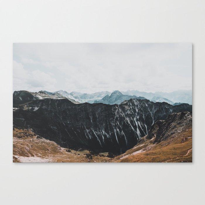 interstellar - landscape photography Canvas Print