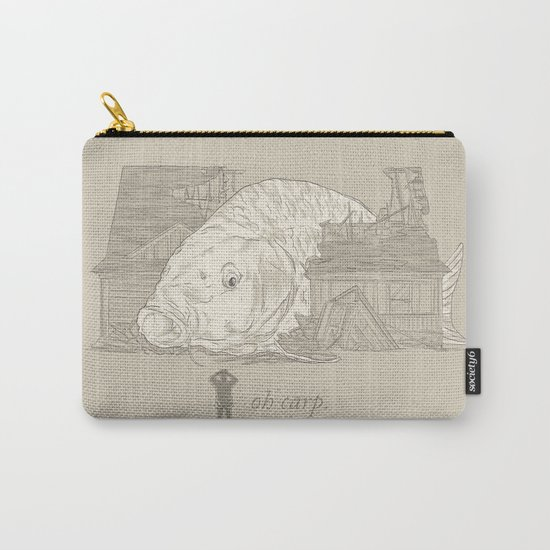 Oh carp. Carry-All Pouch