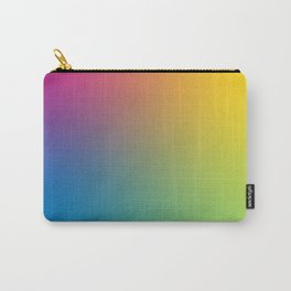 SMILAH: Unedited - Rainbow Gradient Carry-All Pouch