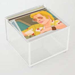 Once Upon A Time in Hollywood Cliff Booth Acrylic Box
