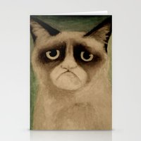 grumpy Stationery Cards featuring Grumpy! by Colunga-Art