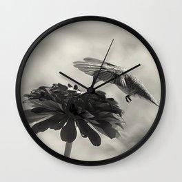 Zoomin' lens  Wall Clock