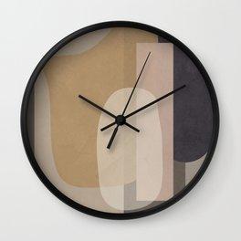 Abstract Geometric Art 51 Wall Clock