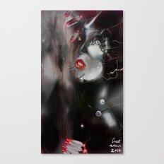 Red  Illusion Canvas Print