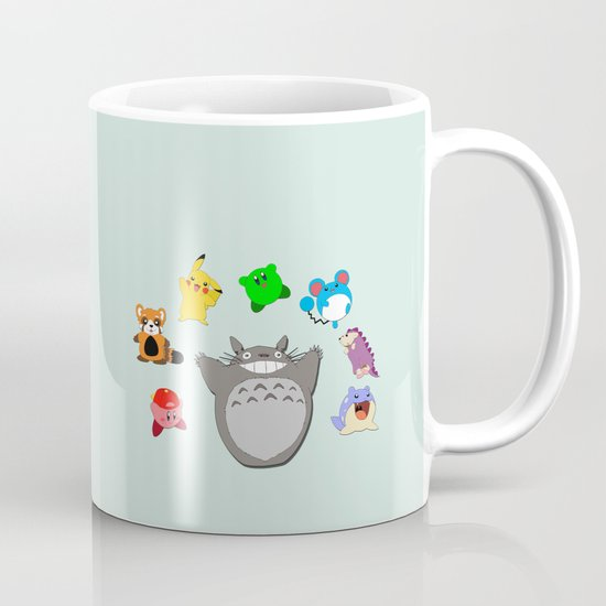 Video Game Anime Character Rainbow Coffee Mug By Lauren