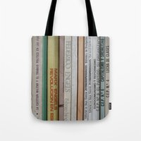 marx Tote Bags featuring Marx Lenin Engels Revolucion Socialismo by Sanchez Grande