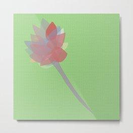 Fragile Flower Metal Print