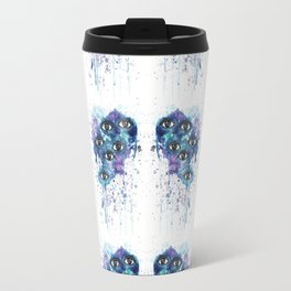 Space Eyes Travel Mug