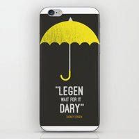 himym iPhone & iPod Skins featuring ''legen  wait for it  dary'' barney Stinson by :: Fan art ::