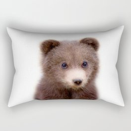 Bear Cub Rectangular Pillow