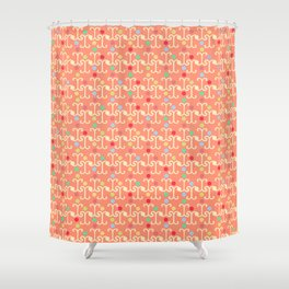 Lattice Pattern (Pastel) Shower Curtain