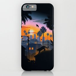 Suburban Jungle iPhone Case