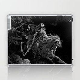 Death on the Pale Horse resized - Dore Laptop & iPad Skin