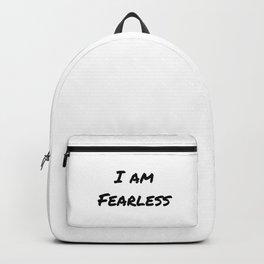 I AM FEARLESS Backpack