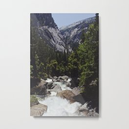 yosemite vernal fall Metal Print