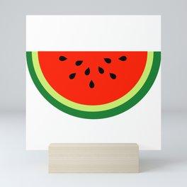 Tasty Watermelon Mini Art Print
