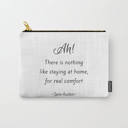 Jane Austen - Home Carry-All Pouch