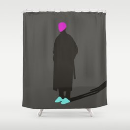 Just Live_01 Shower Curtain