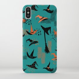 Halloween Witch Hats iPhone Case