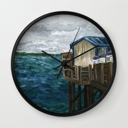 Lost Tranquility Wall Clock