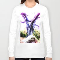 wizard Long Sleeve T-shirts featuring Wizard Tree by Shemaine